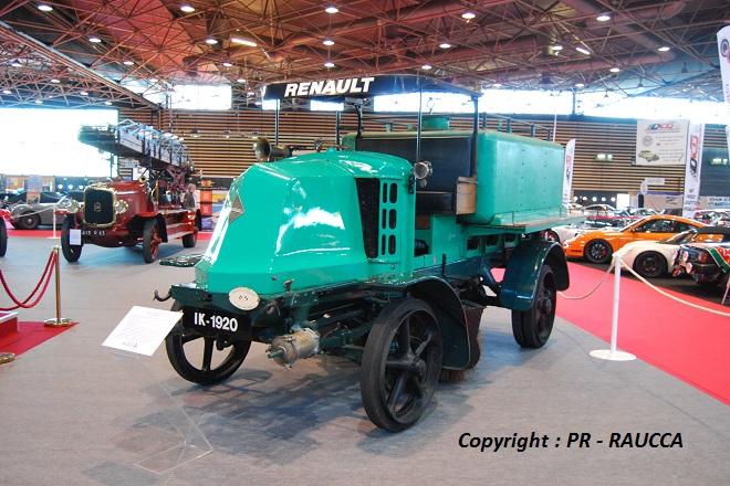 1920 - Renault IK Balayeuse municipale