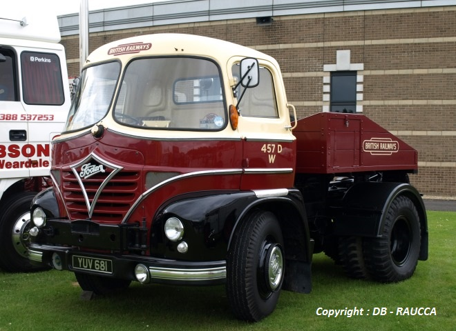 1962 - FODEN S21 - Cabine Mickey Mouse