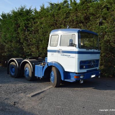 1972 mercedes 2032 6x2