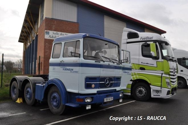 2 générations de Mercedes