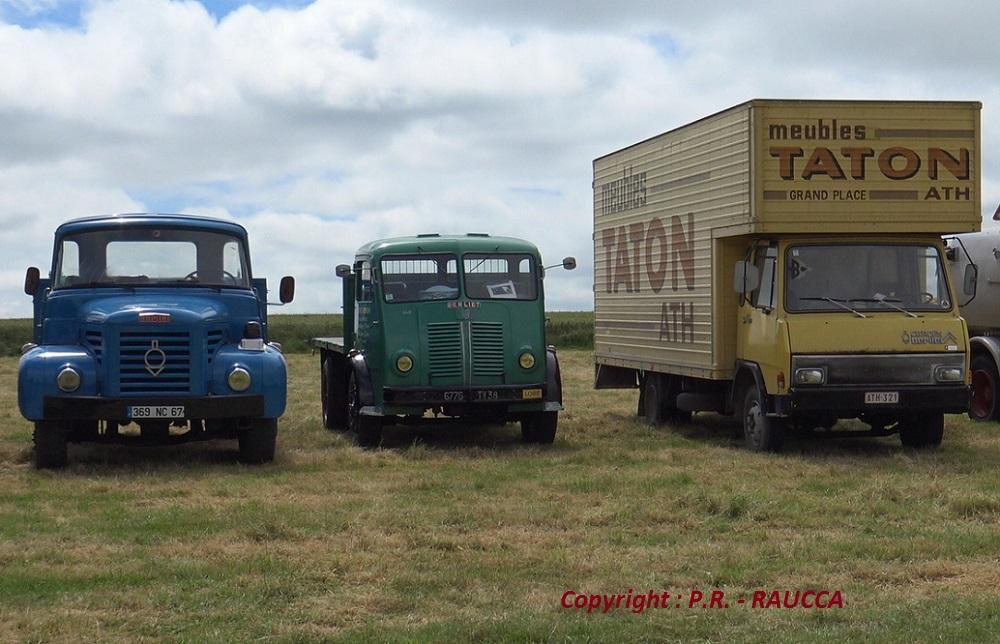 3 generations de Berliet