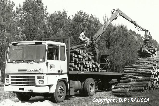 Beau TR  280 en autochargement de bois