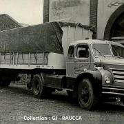 Berliet TLM 15 vu à Maubeuge en 1957