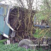 Berliet TR à l'abandon dans le Pas de Calais