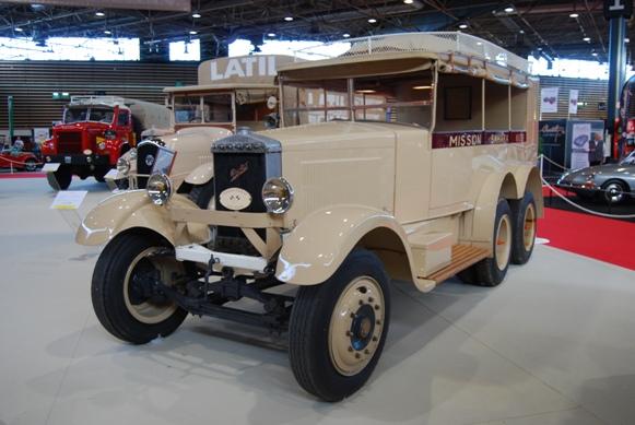 Berliet VPD 6x4 1926 Mission Sahara Niger