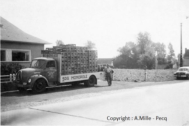 1951 - Magirus Deutz Merkur - Approvisionnement eaux SPA
