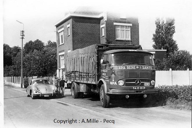 1964 - Mercedes Benz LP1413/48 - Approvisionnement eaux SPA