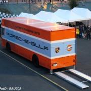 Car-transporteur Mercedes Ecurie John Wyer-Gulf