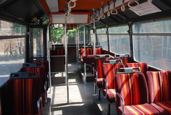 CBM bus lillois (Intérieur)