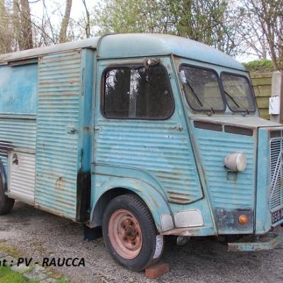 Citroen HY fourgon 1955