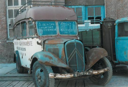 Citroen Minibus apercu à Seclin en son temps