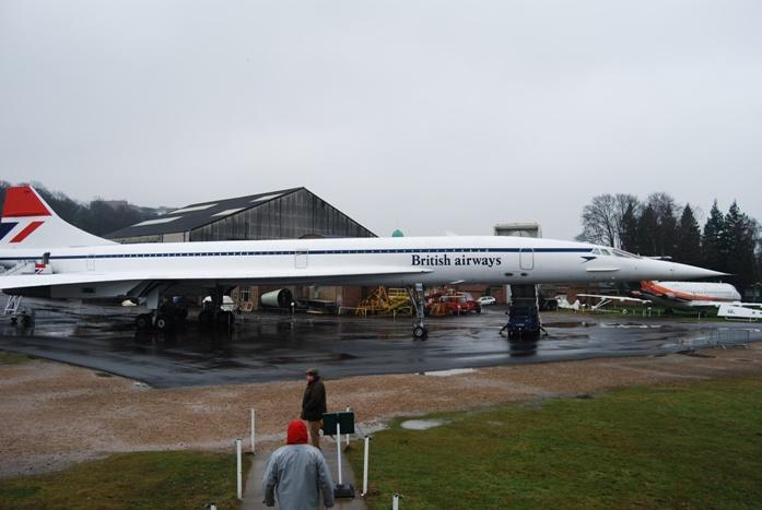 Un des Concorde que l'on peut visiter