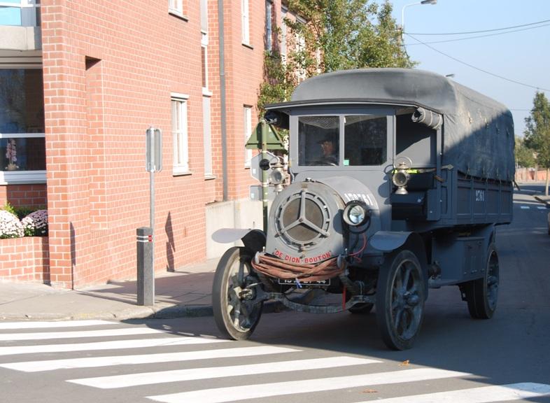 Sur la route en Belgique