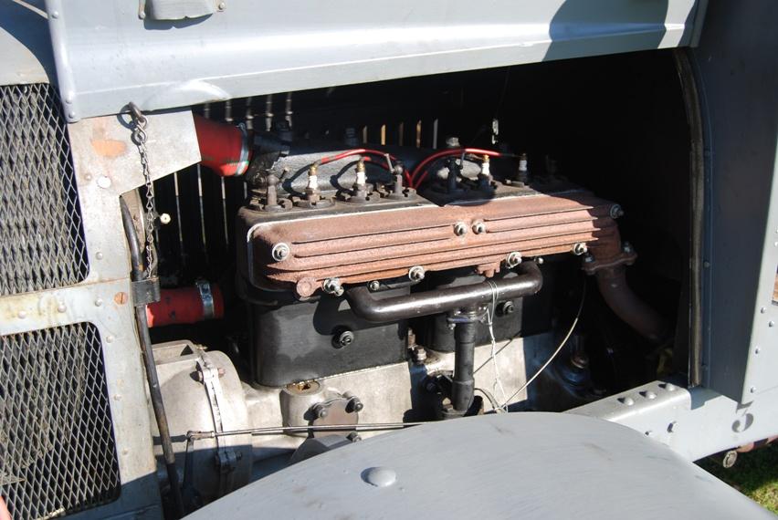 Le moteur bibloc de 4,5litres