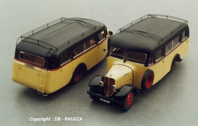 DELAHAYE Autocar Faurax et Chaussende 1936