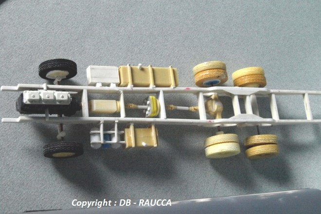 Detail d'un chassis