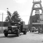 En quittant Le site de Wallers Aremberg - Berliet GDC6C