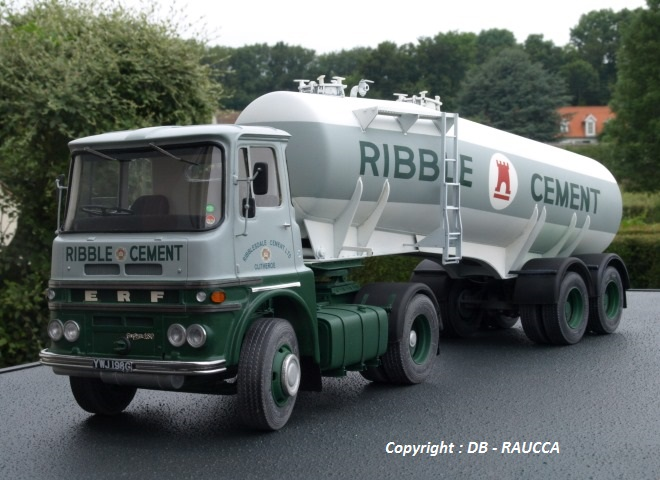ERF Serie A citerne ciment
