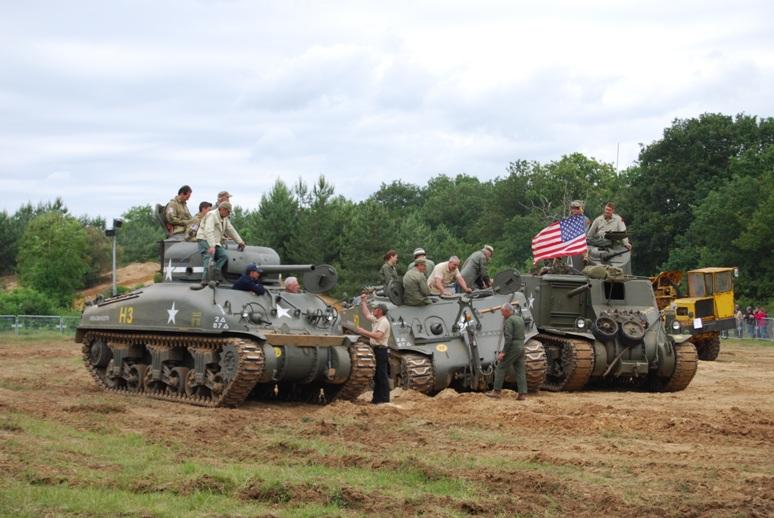 Evolution des chars sur le terrain