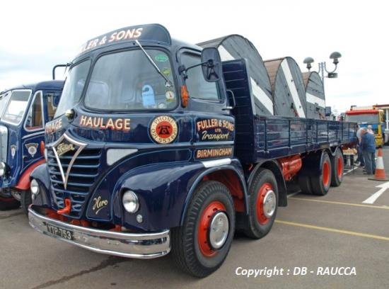 Foden S21 cabine Mickey Mouse