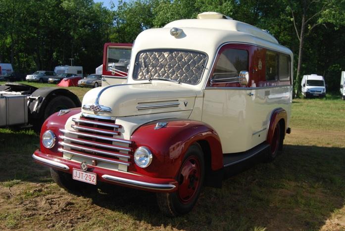 Ford ex-ambulance 1953 construite à l'usine de Cologne