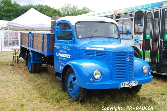 Hotchkiss PL50N Diesel Plateau charbonnier 1963
