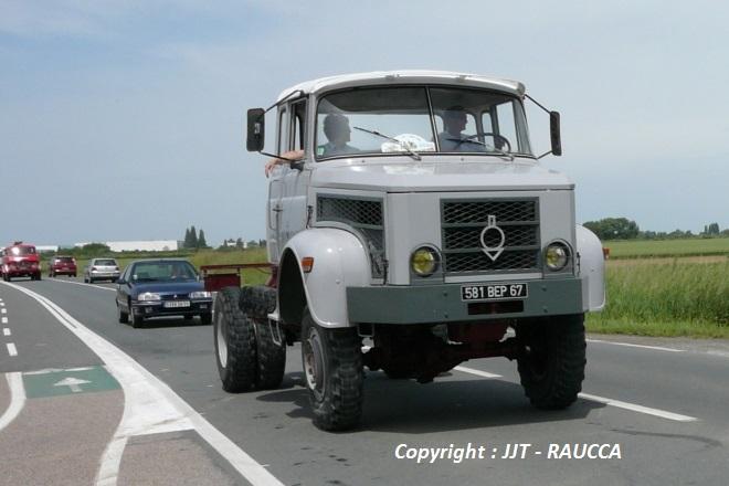 Il est bien rare de voir rouler un proto Berliet, le RAUCCA l'a fait
