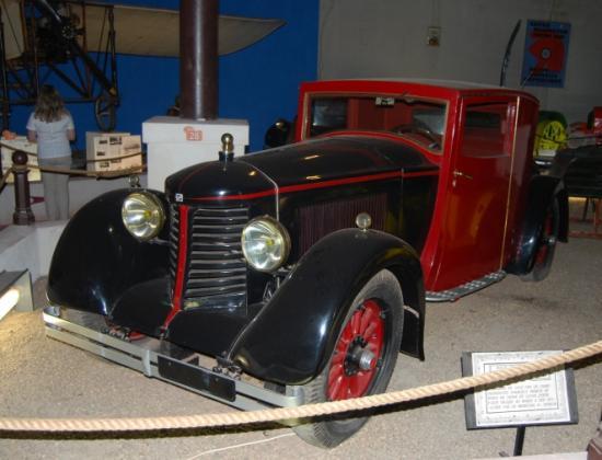 Buick 1919 recarrossée par Bernin, réputée avoir servie le Maréchal Pétain