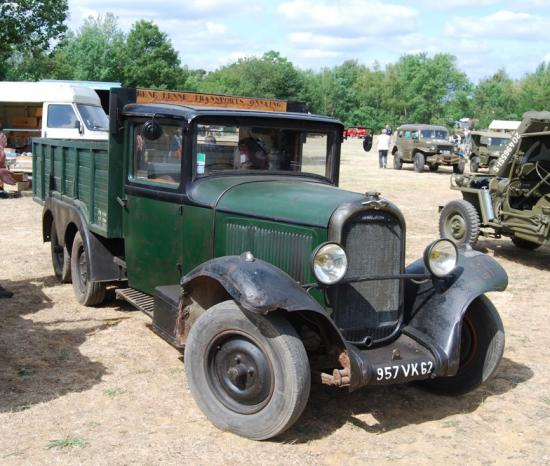 Chenard et Walcker 6 roues 1927