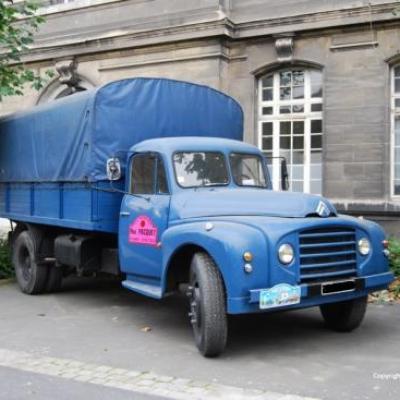 Citröen P55 Ex gendarmerie 1963