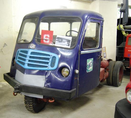 Tracteur FAR CM62 de 1969