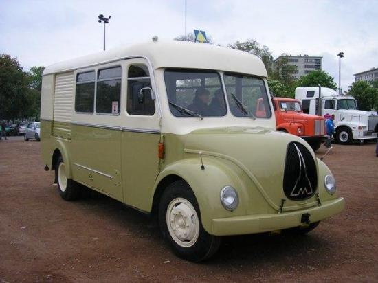 MAGIRUS DEUTZ Camion atelier 1957