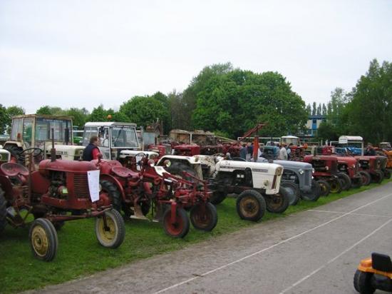 Le coin des tracteurs