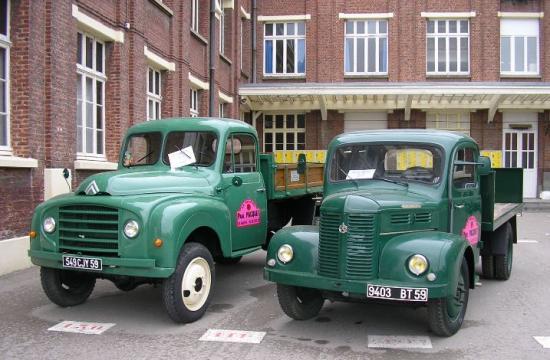Les camions verts