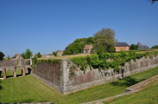 La citadelle de Montreuil sur Mer