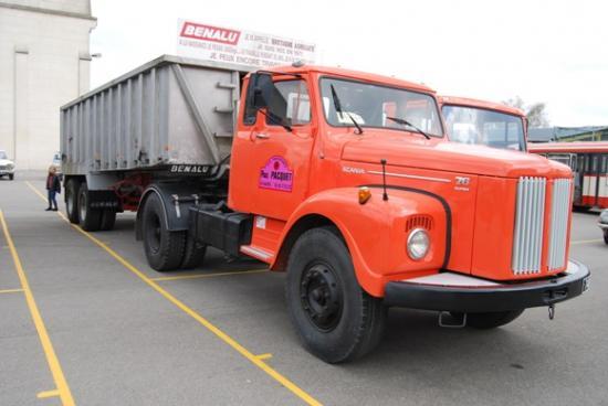 Scania 76 et Benne Benalu
