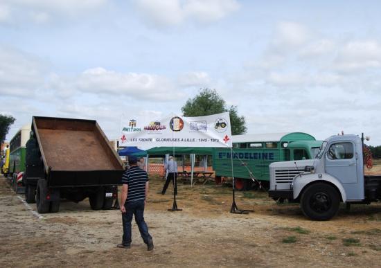 Stand commun Raucca, Amitram, Tracteurs en Weppes, FFVE, Proscitec