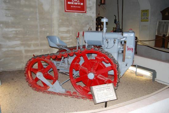 Stock, tracteur chenillé allemand de 1913