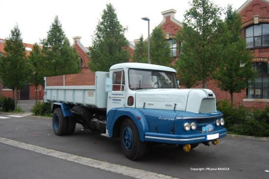 Unic MZU83 Auvergne 1963