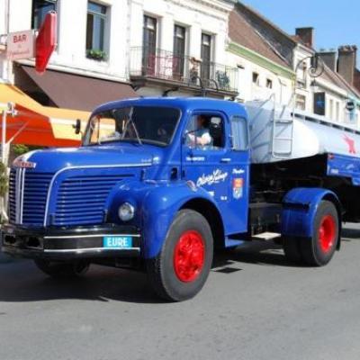 1958 - Berliet TLM + citerne Azur