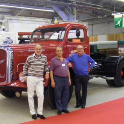 Tracteur SAURER représentant le RAUCCA