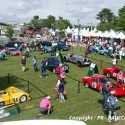 Le Mans Heritage Club vu du Car Podium