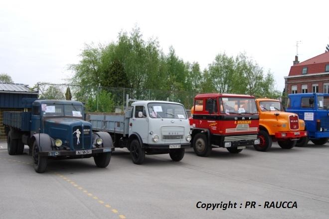Les camions du RAUCCA
