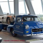 Mercedes Renntransporten 1955