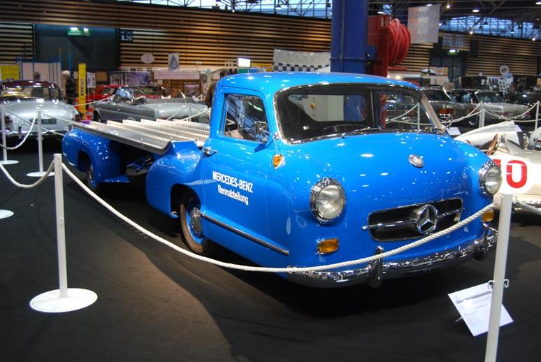 Mercedes Renntransporter