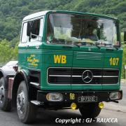 Mercedes tracteur 6 roues