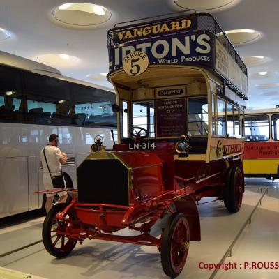 Musée Mercedes à Stuttgart