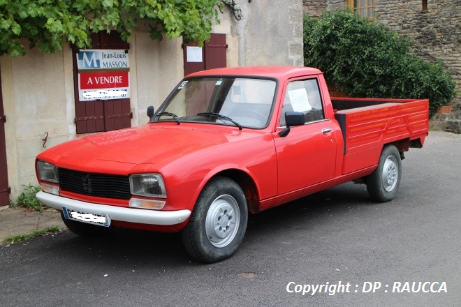 Peugeot 504 pickup