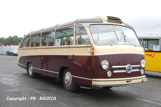 Saurer car panoramique 1953