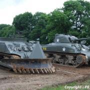 Sherman WWII déminage